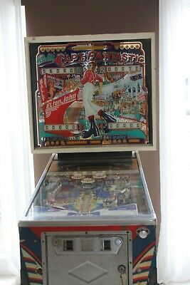Bally Captain Fantastic Pinball Machine