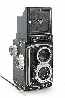 Rollei Rolleicord III type 2, vintage TLR 6x6 camera & case, lens Xenar 3.5/75mm