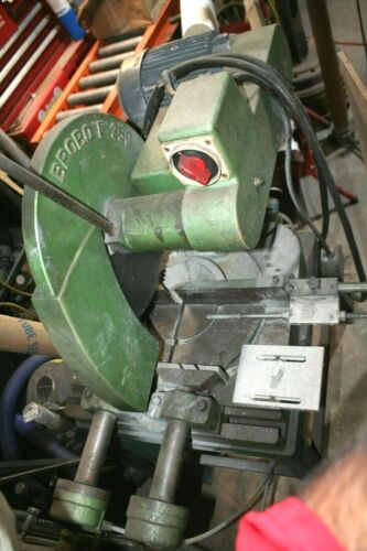 """BROBO COLD SAW 14"""" WITH 2 EXTRA BLADES"""