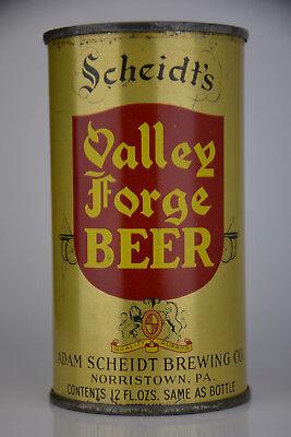 Scheidt's Valley Forge Beer O/I, IRTP flat top can, Adam Scheidt, Norristown, PA