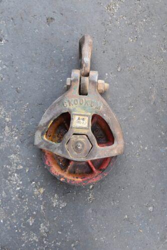 Skookum A-6 Half Side Rigging Block - 7 Ton WLL