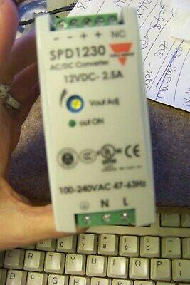 Carlo Gavazzi Spd12301 Power Supply Ac-dc 12v