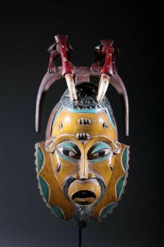 Art African Mask Gouro 104