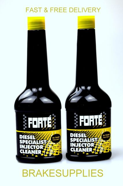 Forte Specialist Vehicle Diesel Injector Cleaner Fuel 400ml, Lower Emissions X2