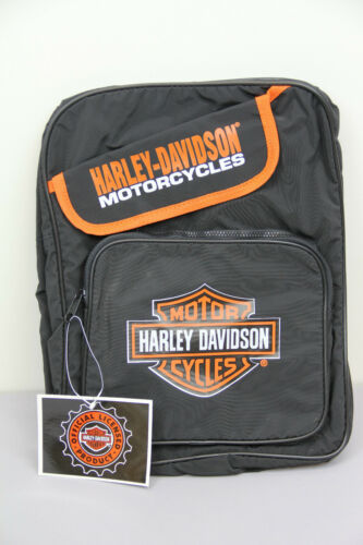 HARLEY DAVIDSON SMALL BACKPACK BAG VINTAGE NOS NEW WITH TAGS VINYL MOTORCYCLES