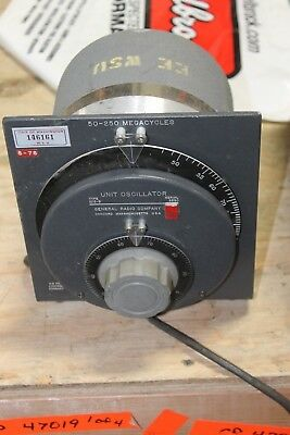 General Radio Unit Oscillator Type No. 1215-b