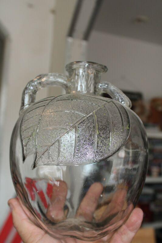 Antique 1/2 gal (WHITE HOUSE) Apple Shaped Jar/Bottle