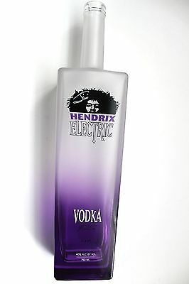 JIMI HENDRIX Moving VODKA BOTTLE 750ML, (Empty) Mint condition