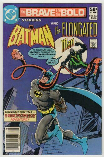 Brave and The Bold (1955) #177 Mark Jewelers Insert Batman Elongated Man VF/NM