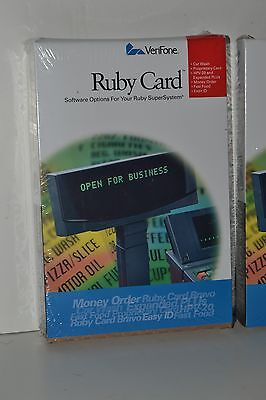 New Verifone Ruby P040-07-508 Hpv-20 Workstation Card Sapphire
