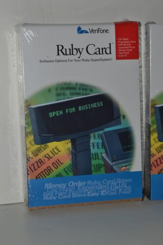 New VeriFone Ruby P040-07-508 HPV-20 Workstation Card / Sapphire