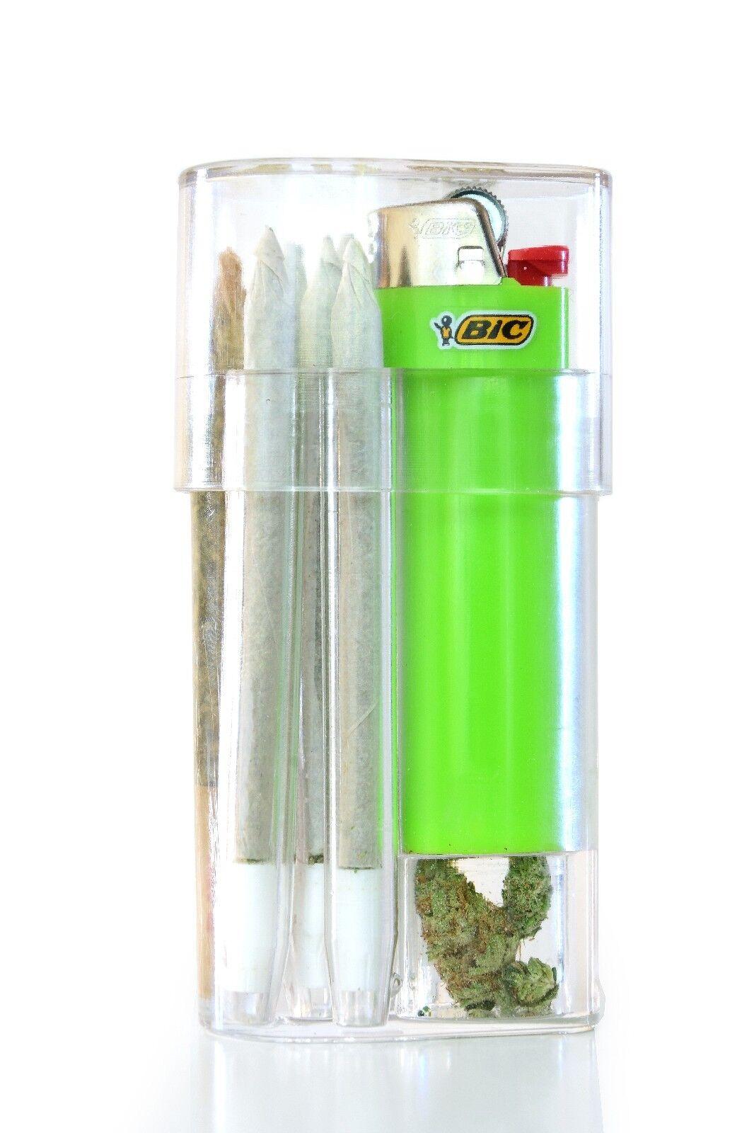 Smoke Space - Cigarette Case - Bic Lighter - Smoking Accesso