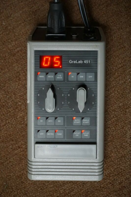 GraLab Model 451 High-Accuracy Digital Electronic Timer, +/- 0.01%