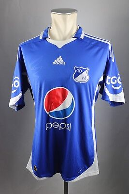 Millonarios FC Trikot Gr. M 2009-10 Shirt ADIDAS Jersey Kolumbien Bogota image