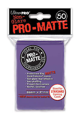 Ultra Pro PRO Matte Clear 100ct Standard Sized Sleeves New Ultra TD2 UP84731