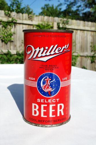 Miller HIGH LIFE Select Beer OI Flat Top can (99-31 L534) original NICE & CLEAN!