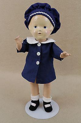 "12"" old vintage composition Arranbee R & B Nancy Doll"