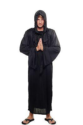 Kostüm Herren Damen Unisex Hexer Henker Schwarzer Magier Dämon Priester - Dämon Hexe Kostüm