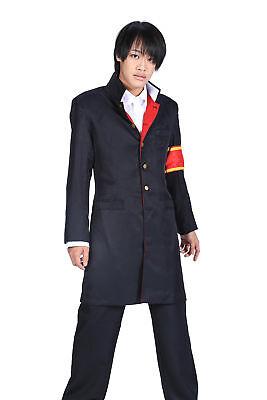 Katekyo Hitman Reborn! Cosplay Costume Vongola Guardian Hibari Kyoya 2nd Ver (Hibari Kyoya Cosplay Kostüm)