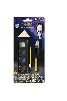 Wednesday Makeup Kit Adult Costume Accessory NEW The Addams Family Movie