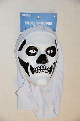 Epic Halloween-kostüm (Brand New AUTHENTIC FORTNITE Spirit Halloween SKULL TROOPER MASK by Epic Games)
