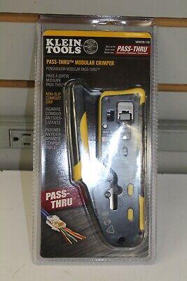 Klein Tools Pass-thru Modular Crimper Vdv226-110. New Free Shipping
