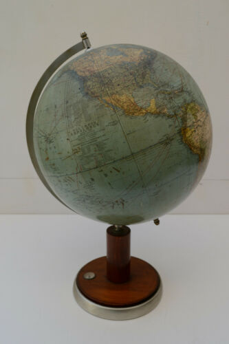 Vintage Globe Columbus Model 200 With Compass ca 1930 - Deutsches Reich, WWII