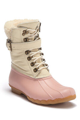 Sperry Top-Sider Women's Shearwater Duck Boot Rose Dust size 6.5
