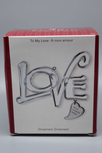 "American Greetings Heirloom Ornament ""To My Love"" -  New Old Stock, #153"