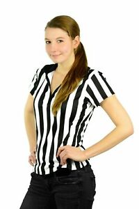 bfffc90fbda 1 Mato   Hash Womens 1 4 Zip-Up Referee Bar Uniform Ref Shirts