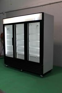 TRUE THREE GLASS DOOR COOLERS AND FREEZERS