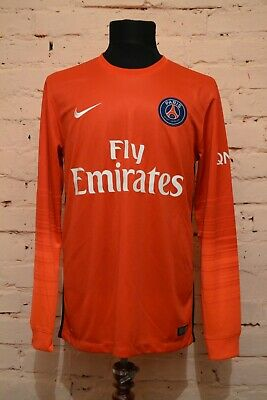 1ade79e24 PSG PARIS SAINT GERMAIN GOALKEEPER FOOTBALL SHIRT 2015 2016 JERSEY MAILLOT  NIKE