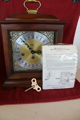 Howard Miller 612-437 Westminster Chime No. 141 Chime Key Wind Movement Clock