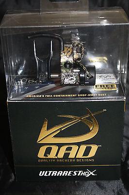 QAD Ultra Rest HDX RealTree Camo Drop Away Arrow Rest Right Hand Free Knife DVD