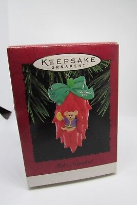 New Hallmark Christmas Ornament Navidad 1995 Mouse in a Chile-Pepper House ()