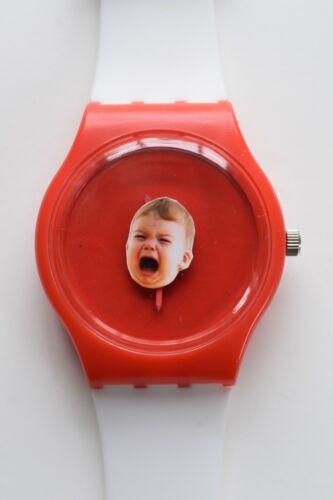 Retro 80s designer watch - Crying Baby Watch