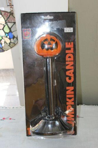1996 🎃Plastic Blow Mold Light Halloween Jack O Lantern Pumpkin Candle Electric