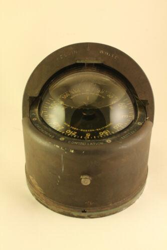 1940s Kelvin-White Constellation Nautical Tool Maritime Ship Compass CB-11248