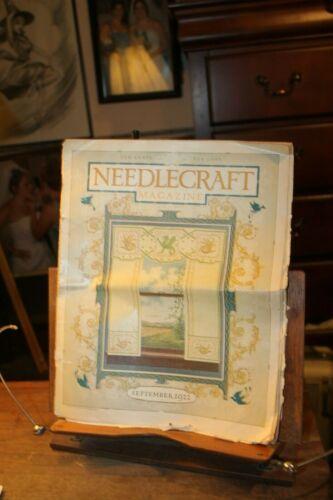 Antique September 1922 Needlecraft Magazine