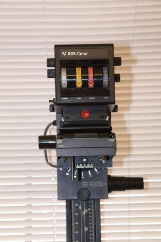 DURST M805 COLOR 6x9CM Dichro Diffusion Enlarger Bimacon Negative Carrier 4masks