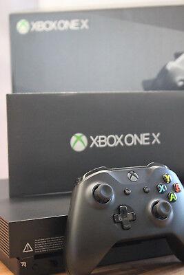 !! gebrauchte Microsoft Xbox One X 1TB mit Rechnung vom Händler !!