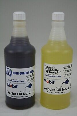 Recommended Oils By Hardinge For The Hlv Toolroom Lathe Mobil Vactra2 Velocite 6