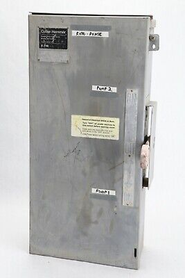 Square D Dtu362rb Double Throw 60a 600v Nonfusible Safety Transfer Switch