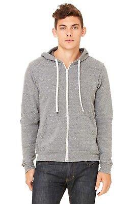 Bella Hooded Sweatshirt - Bella + Canvas - Unisex Triblend Sponge Fleece Full-Zip Hooded Sweatshirt - 3909