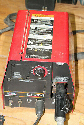 Lincoln Lf-74 Bench Model Heavy Duty K2426 Mig Welder With Mig Gun