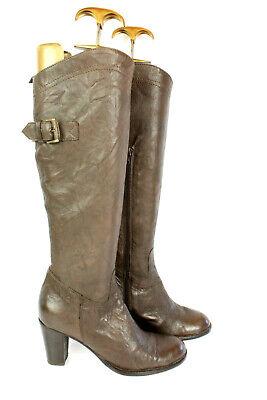 Stiefel REQUINS alle Leder braun T 38 / UK 5 sehr guter Zustand
