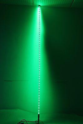 5 Feet RZR Green Color Whips Lighted LED W/ Flag LED Pole Light UTV ATV Buggy TA