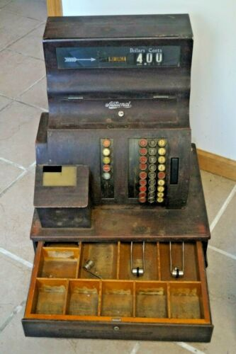 Antique 1927 National Cash Register WORKS MECHANICALLY - LOCAL PICKUP ONLY