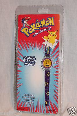 NEW IN PACKAGE 1998 POKEMON PIKACHU COLLECTIBLE DIGITAL FASHION - Girls In Pokemon