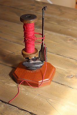 Vintage Sewing Spindle Holder Yarn Winder